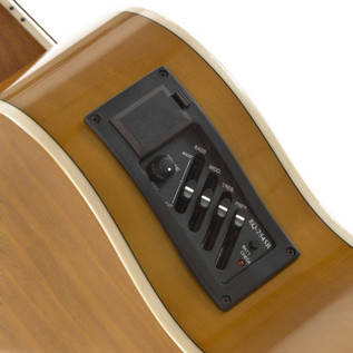 Concert Electro Acoustic Guitar + Complete Pack by Gear4music - EQ