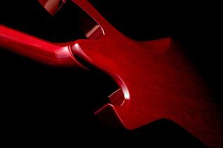 Ibanez FRM100 PGM Paul Gilbert Fireman, Trans Red Rear