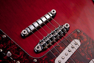Ibanez FRM100 PGM Paul Gilbert Fireman, Trans Red Bridge