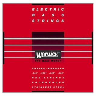 Warwick 42200 Red Label Medium Bass Strings (45-105), 4-String