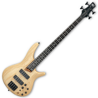 Ibanez SR600 Bass Guitar, Natural Flat