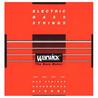 Warwick 46210 Red Label Medium-Light Bass Strings (40-100), 4-String