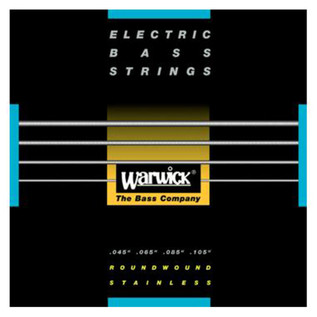 Warwick 40200 Black Label Medium Bass Strings (45-105), 4-String