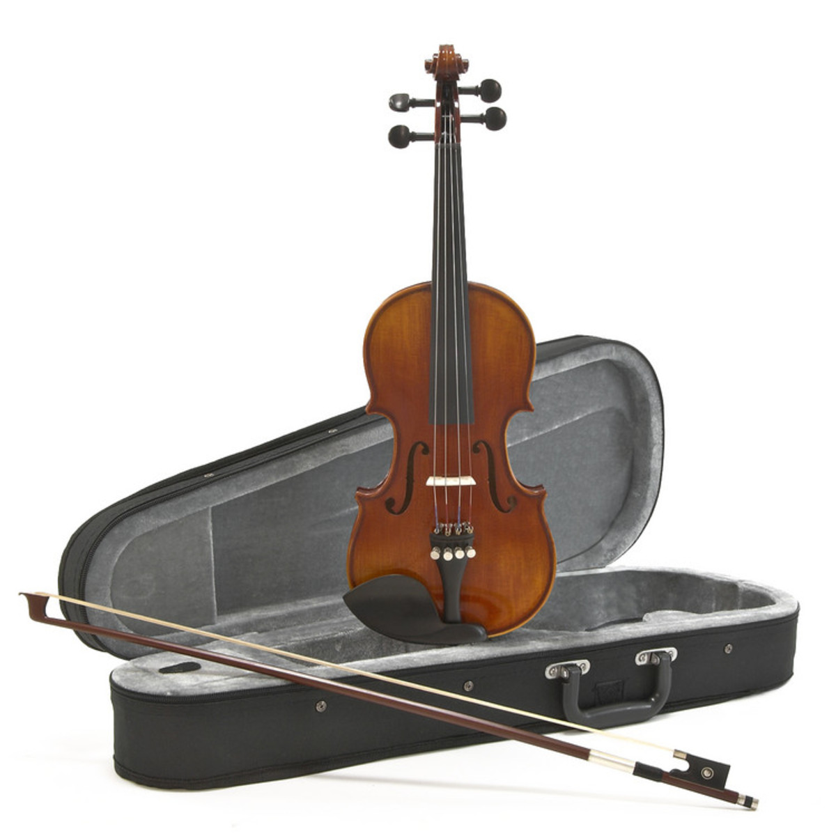 Image of Deluxe 1/4 Size Violin Antique Fade by Gear4music