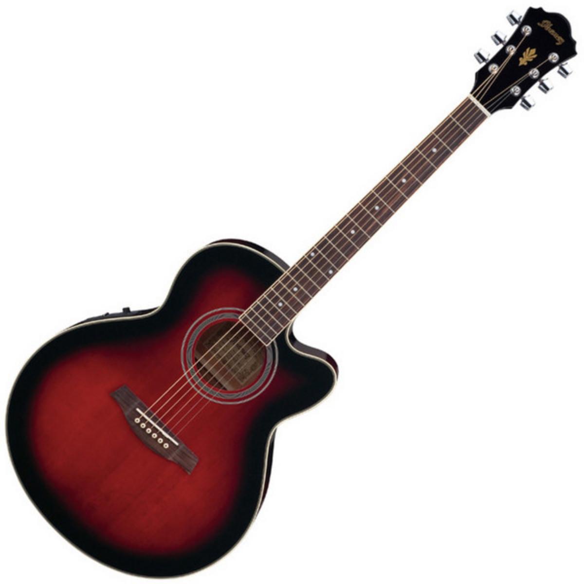 guitare electro acoustique de disque ibanez ael8e trs. Black Bedroom Furniture Sets. Home Design Ideas