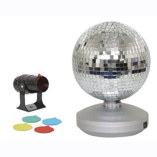 "Cheetah Free Standing Mirror Ball Kit, 8"""