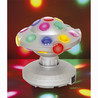 Cheetah 8 UFO Multi-Coloured revolverende Disco kugle lyseffekt