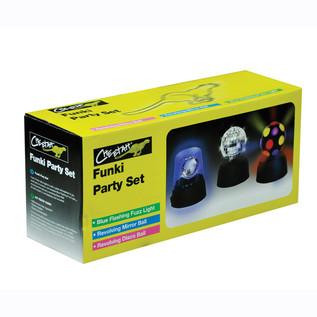 Cheetah Funki Party Set of Mini Disco Lights
