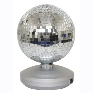 Cheetah Free Standing Mirror Ball, 8""