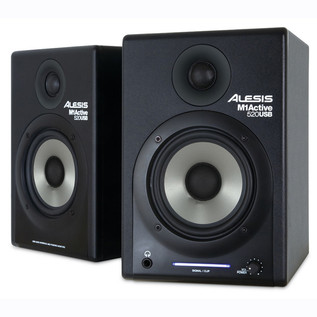 Alesis M1 Active 520 USB Active Studio Monitors (PAIR)
