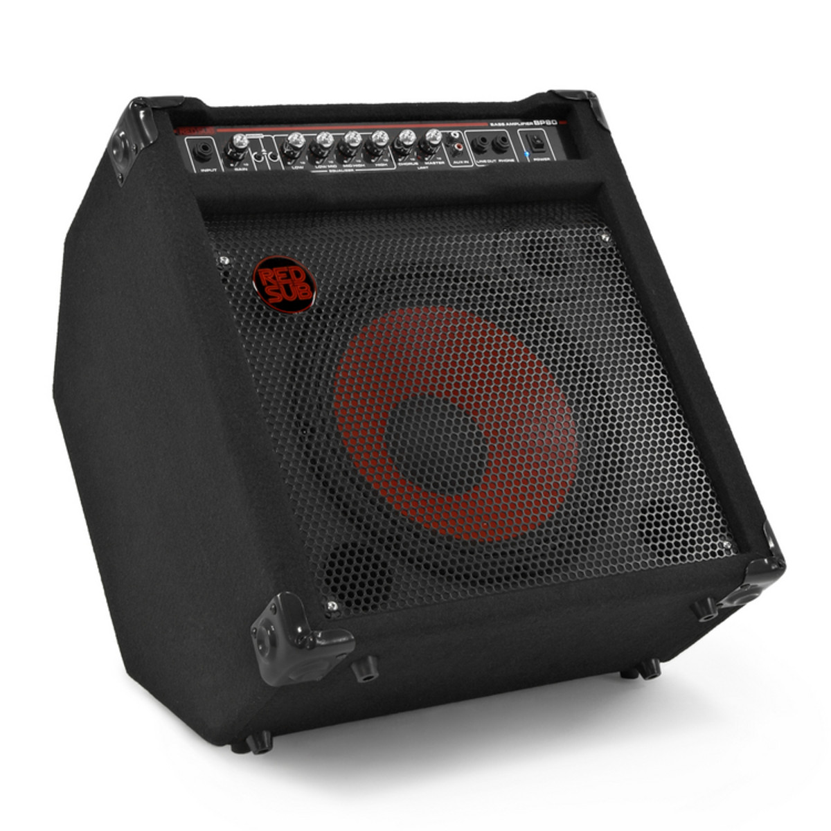 redsub bp80 80w bass guitar amplifier nearly new at. Black Bedroom Furniture Sets. Home Design Ideas