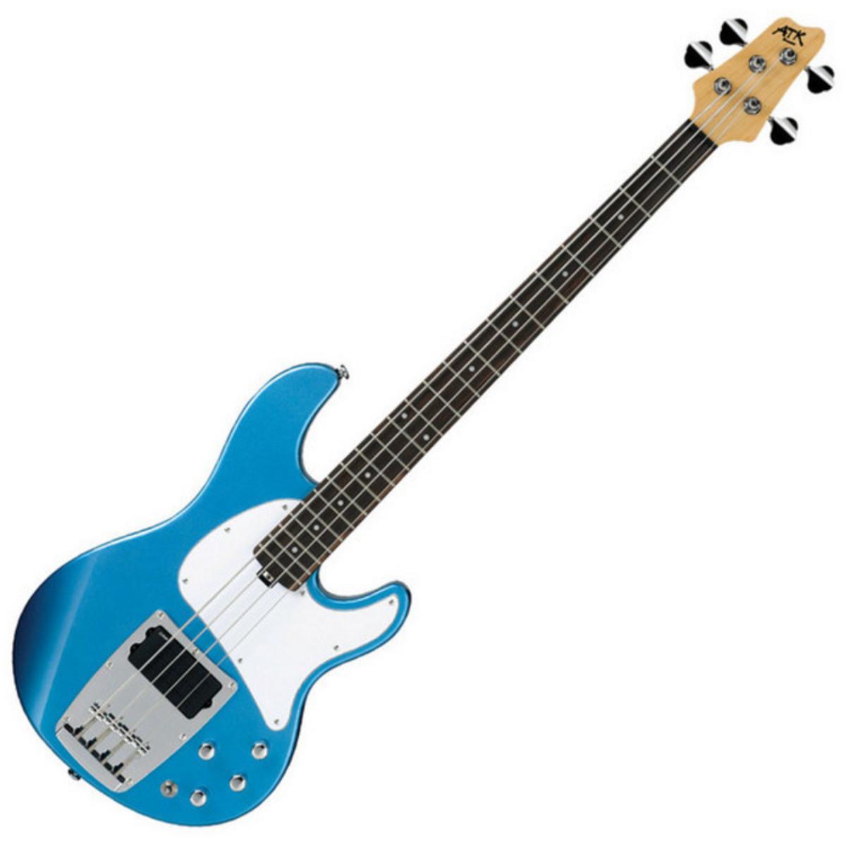 puis guitare basse lectrique ibanez atk200 soda bleu avec housse gratuit. Black Bedroom Furniture Sets. Home Design Ideas