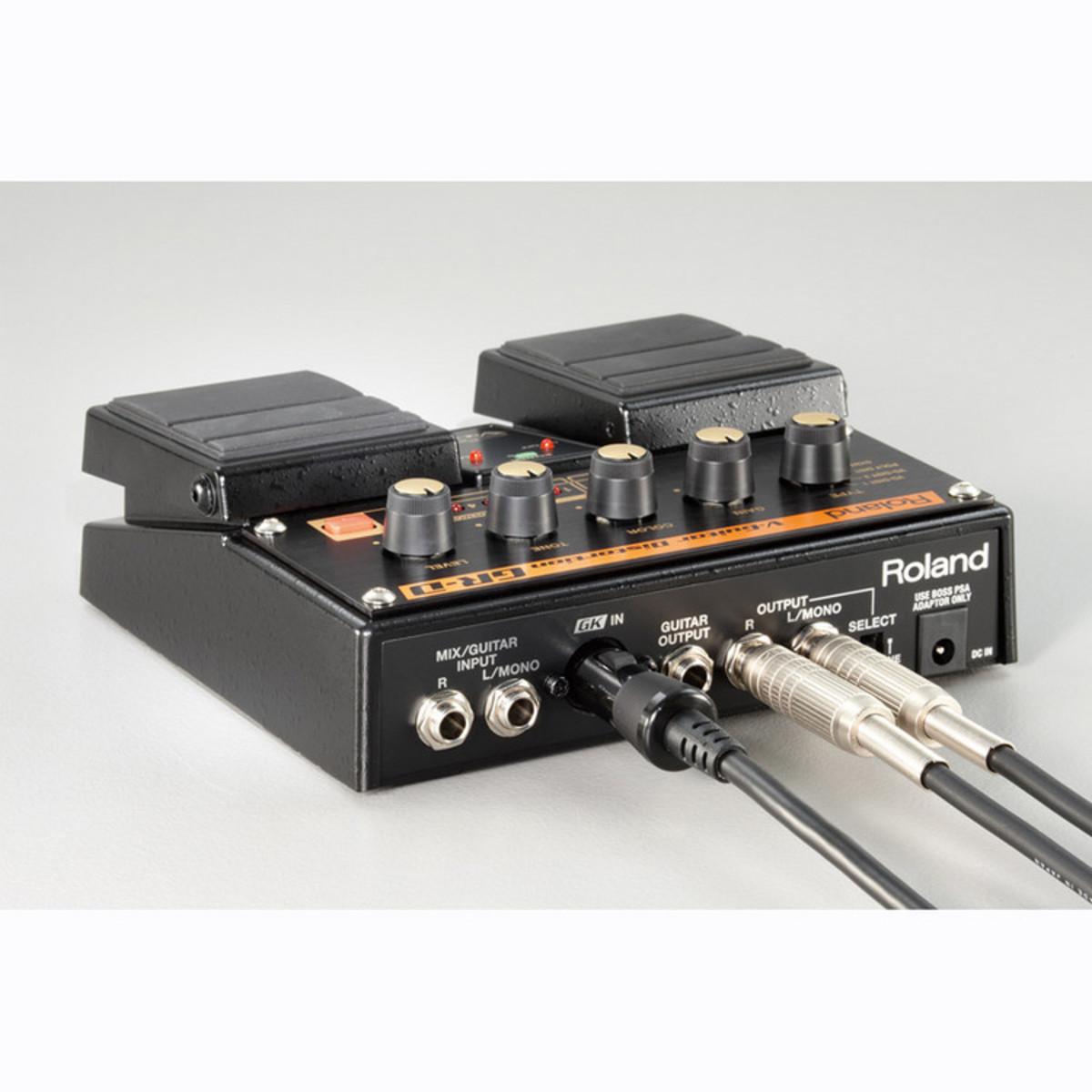 roland gr d v guitar distortion effects pedal at. Black Bedroom Furniture Sets. Home Design Ideas