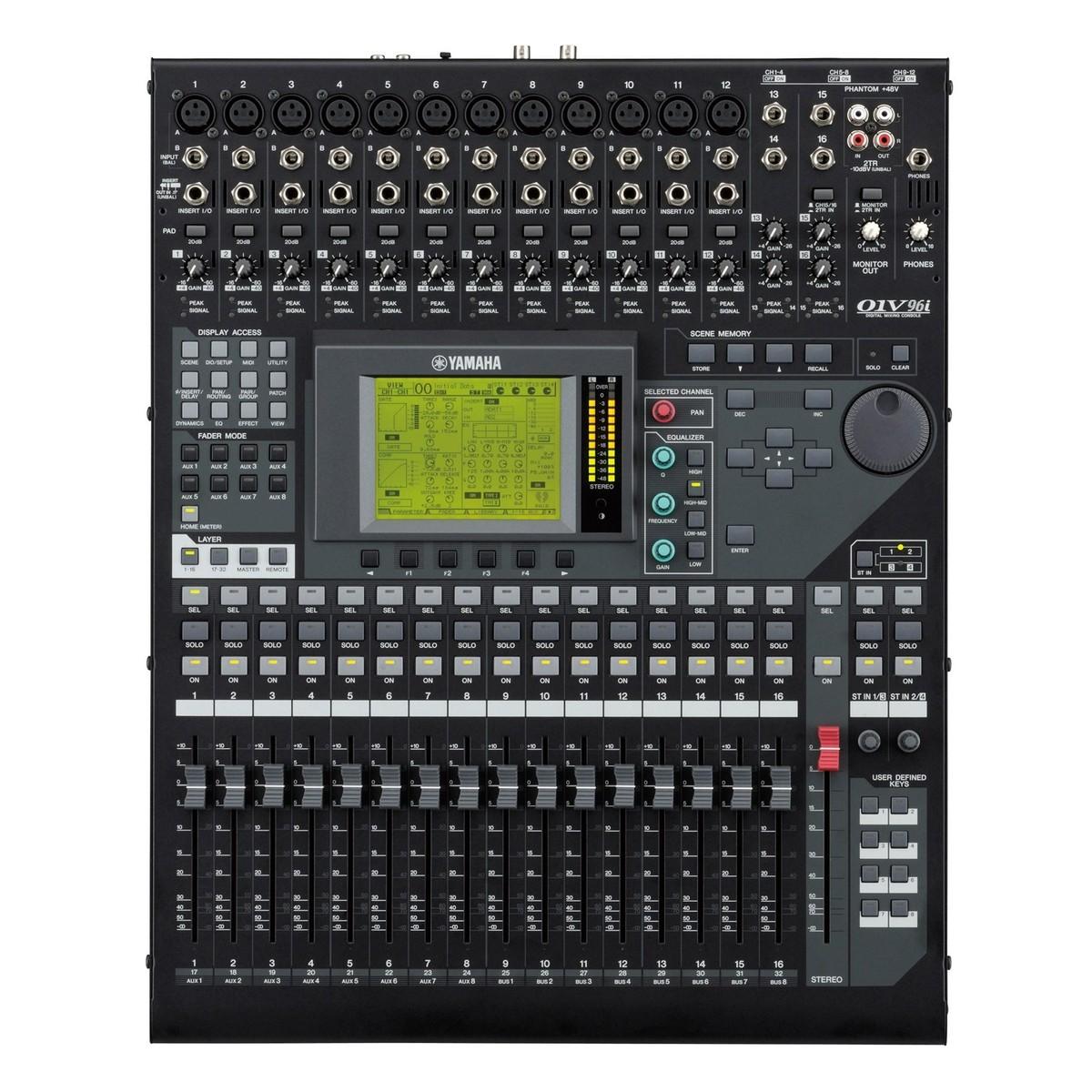 yamaha 01v96i digital mixer free beyerdynamic dt770 headphones at. Black Bedroom Furniture Sets. Home Design Ideas