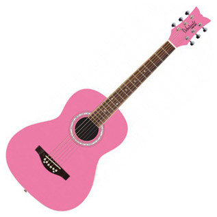 Daisy Rock Junior Miss Acoustic Short Scale, Bubblegum Pink