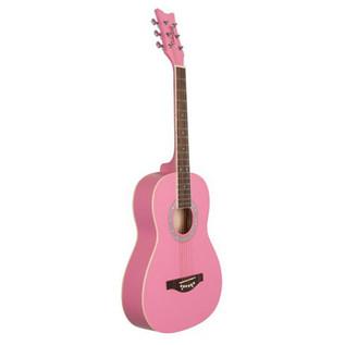 Daisy Rock Junior Miss Acoustic Short Scale, Bubblegum Pink