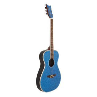 Daisy Rock Pixie Acoustic, Blue Sparkle