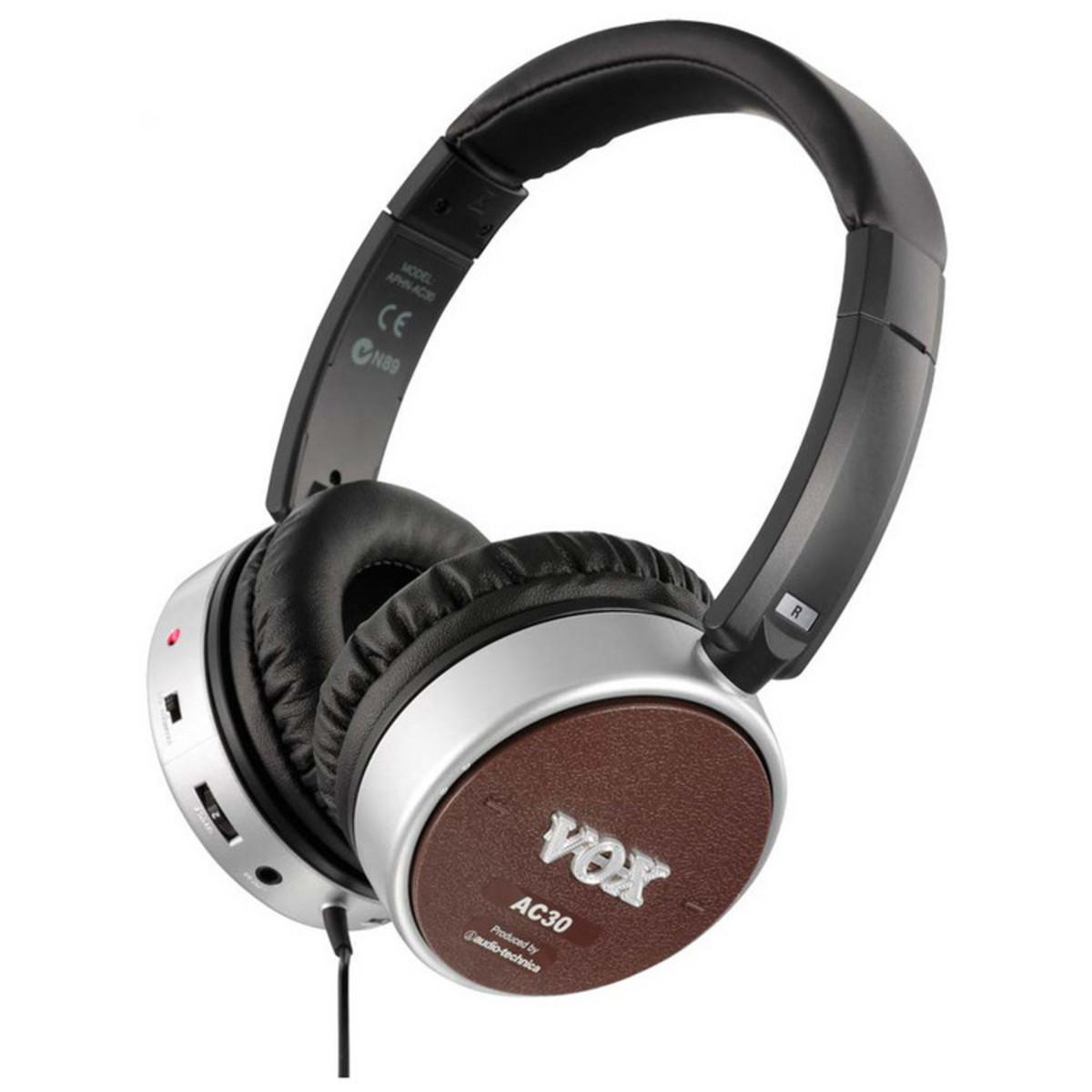 vox amphones active ac30 guitar headphones at. Black Bedroom Furniture Sets. Home Design Ideas