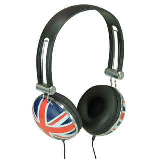 Electrovision Union Jack Stereo Headphones