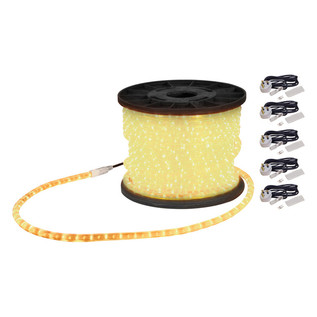 Electrovision Static Duralight Rope Light, 45m, Clear