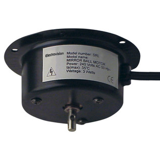 Electrovision Mains Powered Mirror Ball Motor, 1RPM