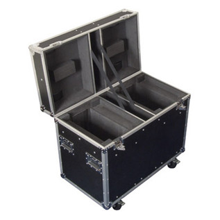 Electrovision Double Moving Head Light Case on Wheels