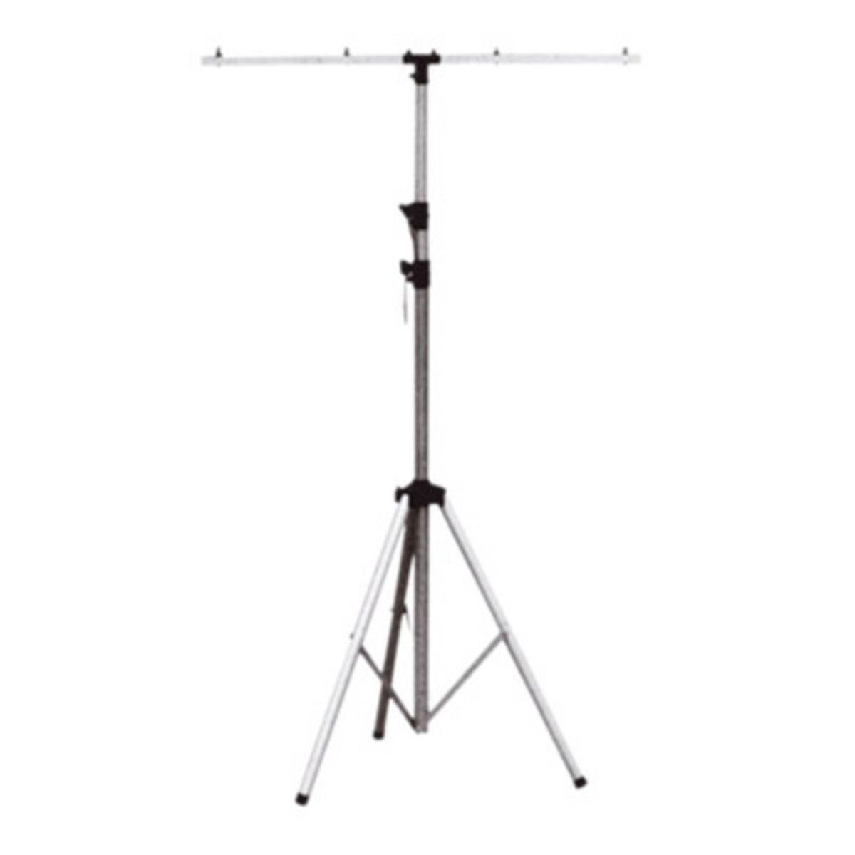 Soundlab r glable stand d 39 clairage en aluminium argent for Eclairage stand