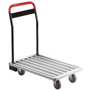 Electrovision Aluminium Flat Bed Transport Trolley