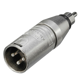 Neutrik NA2MPMM XLR Male/Phono Male Adaptor