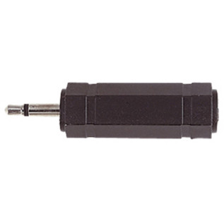 Electrovision 3.5mm Mono Male/6.35mm Stereo Female Adaptor
