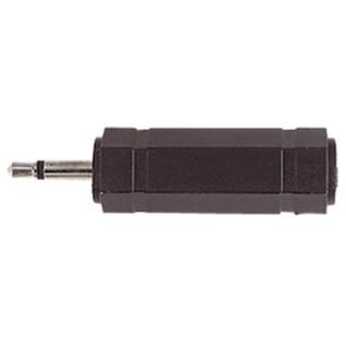 Electrovision 3.5mm Mono Male/6.35mm Stereo Female Adaptor