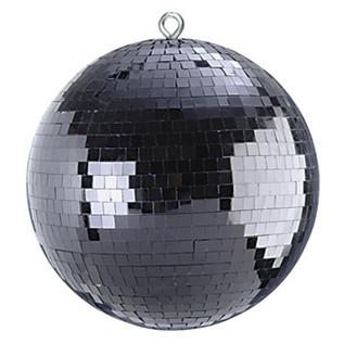 "SoundLab Black Lightweight Mirror Ball, 16"""