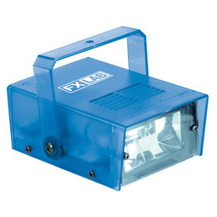 SoundLab 14W Plastic Mini Strobe, Blue