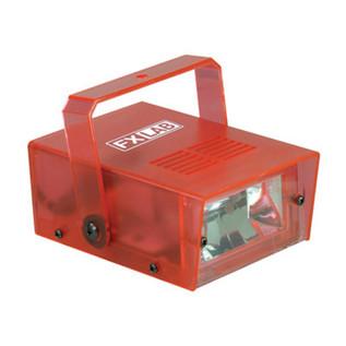 SoundLab 14W Plastic Mini Strobe, Red