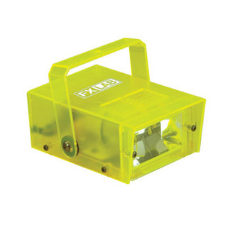 SoundLab 14W Plastic Mini Strobe, Yellow