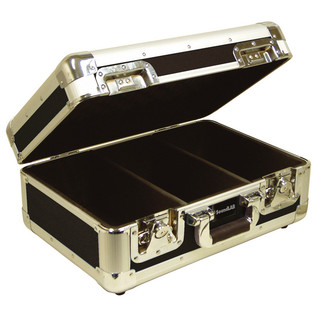 Electrovision Euro Style 70 CD Case with Lid and Soft Lining, Black
