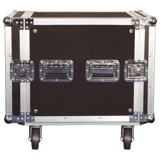 Electrovision Plywood Rack Case on Wheels with Removable Lids, 10U (Main)