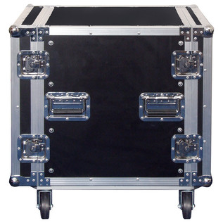 Electrovision Plywood Rack Case on Wheels with Removable Lids, 12U (Main)