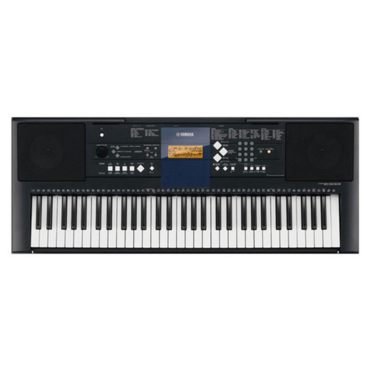 disc yamaha psr e333 portable keyboard with stand bench at. Black Bedroom Furniture Sets. Home Design Ideas
