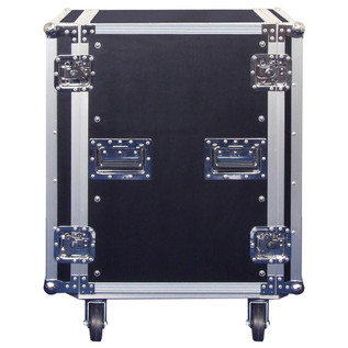 Electrovision Plywood Rack Case on Wheels with Removable Lids, 16U (Main 1)