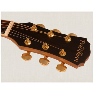 Freshman FA1AM Folk Cutaway Electro Acoustic Guitar Headstock