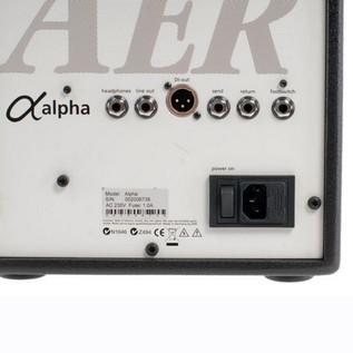 AER Alpha Acoustic Guitar Amp, Black