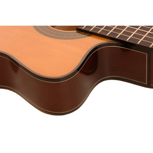 Freshman Classical Slim Body Electro Acoustic Guitar Cutaway
