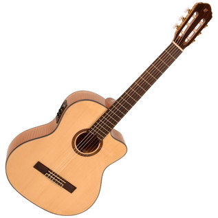 Freshman Classical Cutaway Electro Acoustic Guitar with Hardcase
