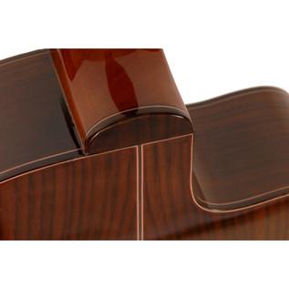Freshman Classical Cutaway Electro Acoustic Guitar, Left Handed Rear