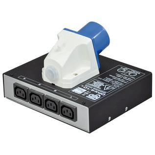NJD DPX4/10 4 Channel DMX Lighting Dimmer Pack
