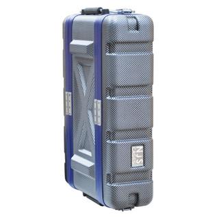 NJS Heavy Duty ABS Short Rack Case, 2U