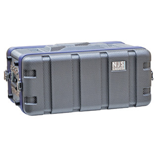 NJS Heavy Duty ABS Short Rack Case, 4U