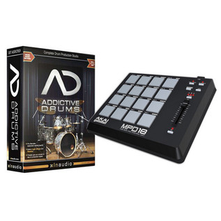 XLN Addictive Drums & Akai MPD18 Pad Controller Bundle