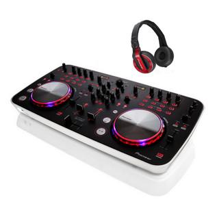 Pioneer DDJ Ergo V DJ Controller & HDJ-500R Headphones